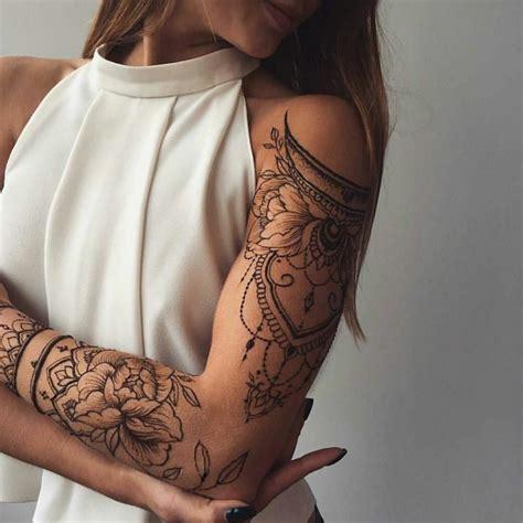 tatuaggi di fiori sul braccio 1001 idee per tatuaggi mandala immagini a cui ispirarsi
