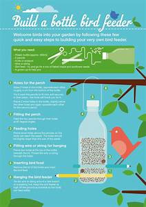 Making A Bird Feeder Out Of A Recycled Plastic Bottle