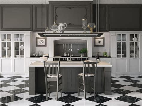 cuisine a l ancienne craquez pour une cuisine grise décoration