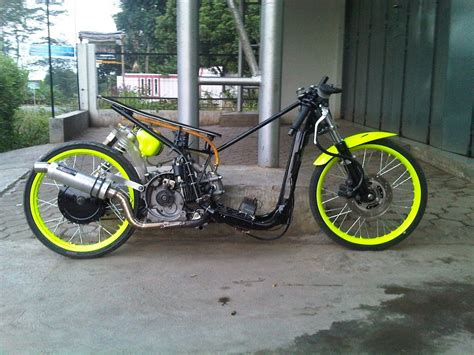 Foto Mio Drag by Gambar Modifikasi Kumpulan Foto Modifikasi Motor Mio Drag