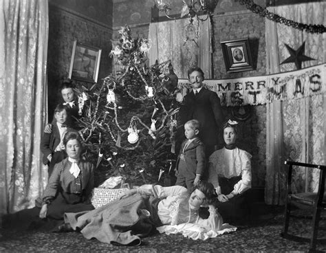 history  christmas traditions    century