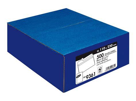 bureau vallee perpignan la couronne enveloppe 110 x 220 mm pack de 500