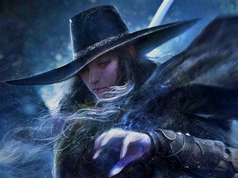 vampire hunter  wallpaper  background  id