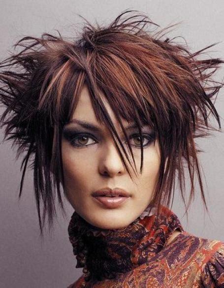 funky hairstyles  medium length hair