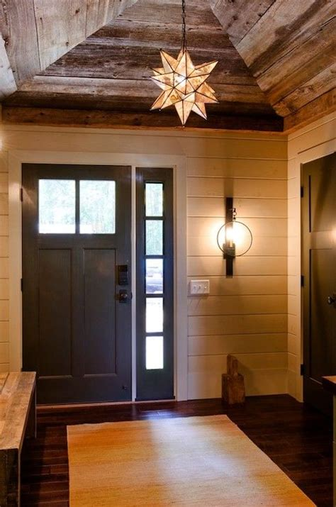 my cabin rustic lake houses rustic foyer entry way design