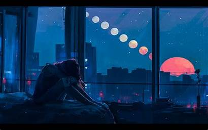 Sad Wallpapers Alone Night Resolution 4k Backgrounds