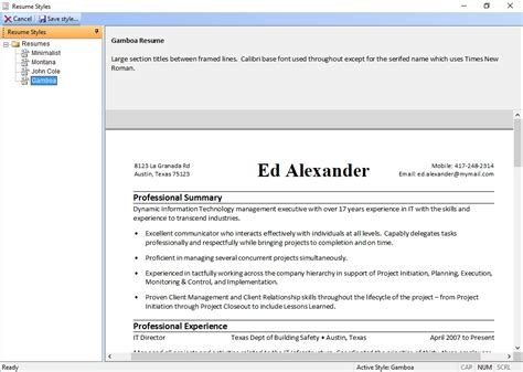 screenshots find the right with these five resume