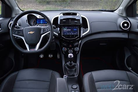 chevrolet sonic rs review webcarz