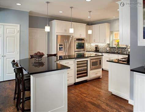 open kitchen designs plan  luxury semi open