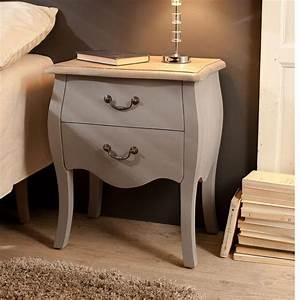 Table De Chevet Bleu : chevet en bois 2 tiroirs coloris bleu ardoise olivia ~ Preciouscoupons.com Idées de Décoration