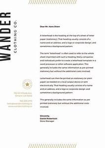 Personal Letterhead Design Customize 750 Letterhead Templates Online Canva