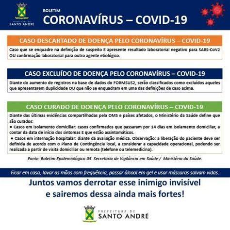 Covid-19 - Boletim Santo André – 21/12