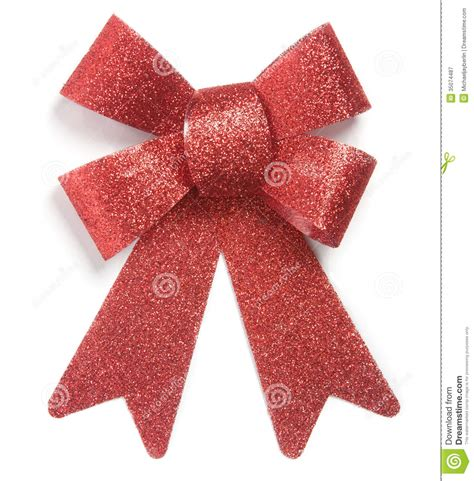 red christmas ornament bow tie royalty free stock