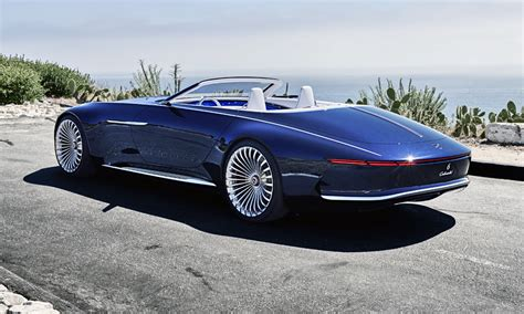 Meet The Vision Mercedes-maybach 6 Cabriolet...
