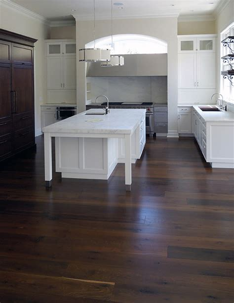 black oak wood flooring black oak floors contemporary kitchen chicago by signature innovations llc