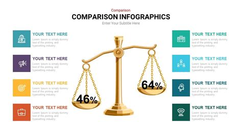 Comparison Infographic Template for Download   SlideHeap