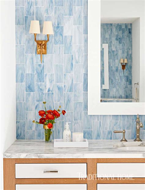 Surfaces Christopher Kennedy Modernism Showhouse by Bravura Tile Designs For Bathrooms Traditional Home