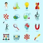 Vector Science Icons Clipart Graphics Vectors Freepik