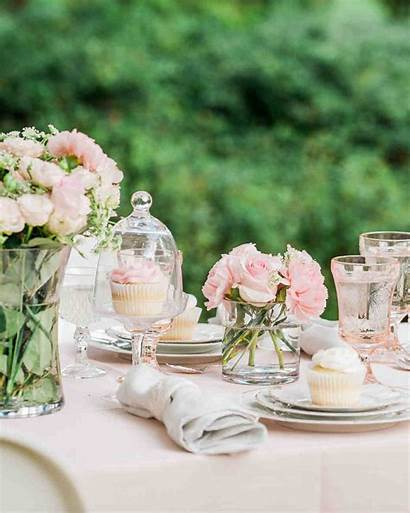 Bridal Shower Centerpieces Outdoor Themes Table Bride