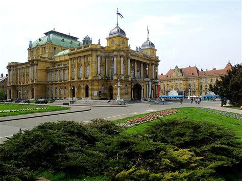 Kroatischesnationaltheater In Zagreb, Wurde Von Den