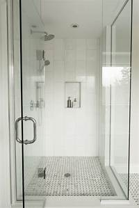 stand up shower ideas Bathroom: Gorgeous White Bathroom Decoration Using Square ...