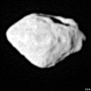 BBC NEWS | In Pictures | In pictures: Diamond-shaped asteroid