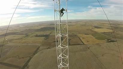 Climbing Tower Radio Safety Foot Without Stupid