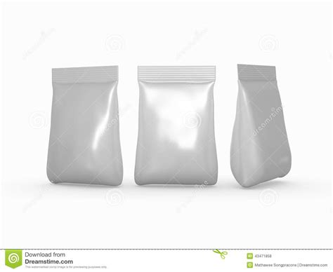 silver foil bag packaging   wide variety  products