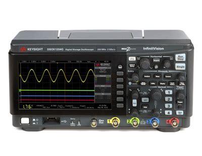 Keysight Infiniivision Series Oscilloscopes