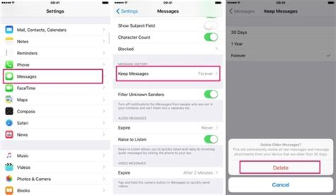 how to delete saved messages on iphone how to save storage on an iphone or by automatically