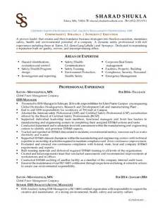 certified safety professional resume sharad shukla ehs resume 2016