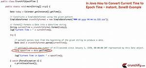 java string template - in java how to convert current time to epoch time