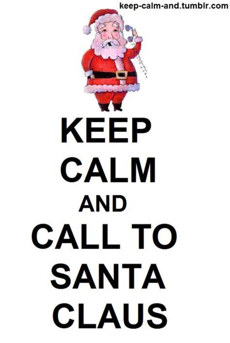 call keep calm santa claus image 151428 on favim com