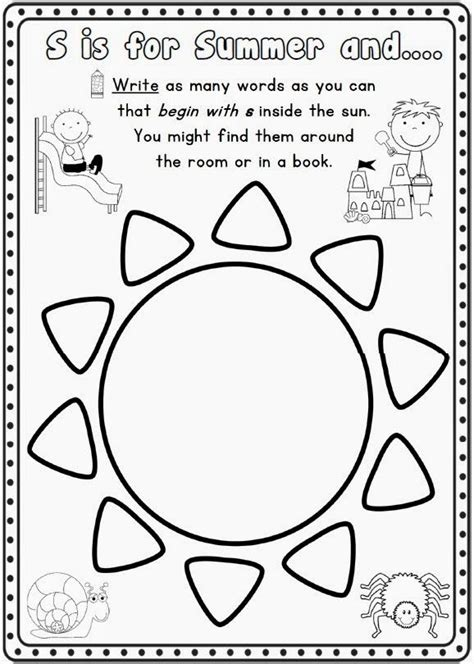 517 Best Images About Prek Worksheets On Pinterest