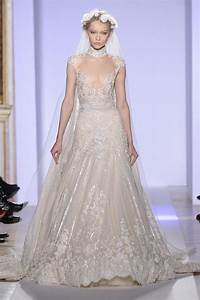 1 gasp inducing wedding dress from zuhair murad39s haute With haute couture wedding dresses