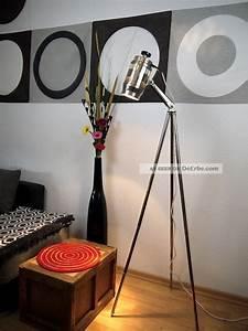 Stehlampe Retro Design : tripod bauhaus lampe dreibein stehlampe art deco vintage design leuchte ~ Sanjose-hotels-ca.com Haus und Dekorationen