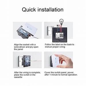 Interrupteur Compatible Google Home : interrupteur connect amazon alexa google home tactile 8 ~ Nature-et-papiers.com Idées de Décoration