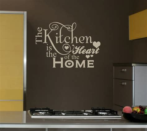 kitchen wall quotes  sayings quotesgram