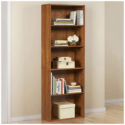 ameriwood 5 shelf bookcase ameriwood bank alder 5 shelf bookcase big lots