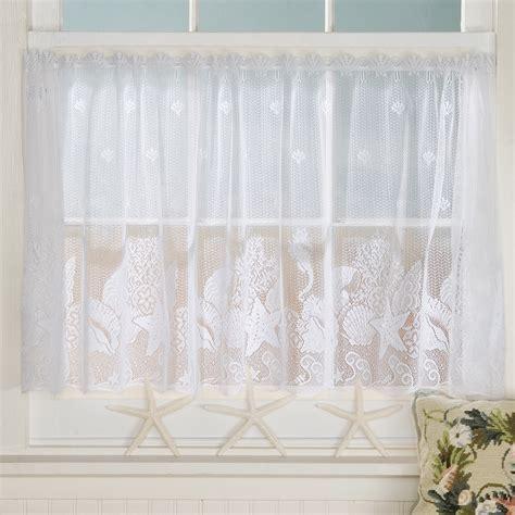 seashell lace curtains sturbridge yankee workshop