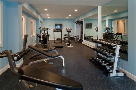 Home Gym Essentials For Your Health Investment  Homesfeed. Black Concrete Countertops. Light Blue Living Room. Laundry Racks. Split Level Remodel. Old Stairs. Western Decor Ideas. Redo Fireplace. Modern Vanity