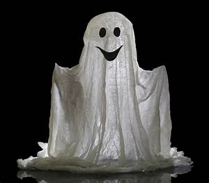 How To Create A Ghost Costume  With Pictures