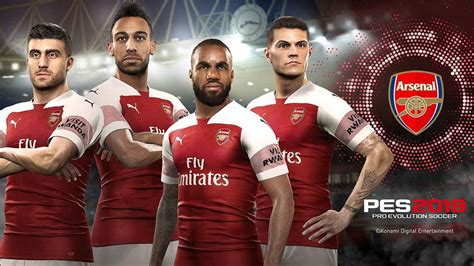 pes  arsenal faces gunners