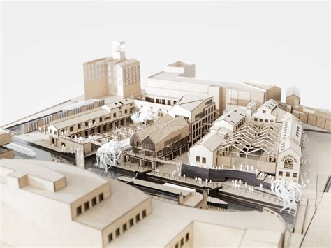 Piercy & Co's Plans For Camden Lock Market Approved