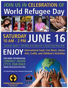 World Refugee Day Poster - Danielle DeGroft