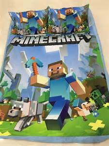 minecraft duvet set bedding