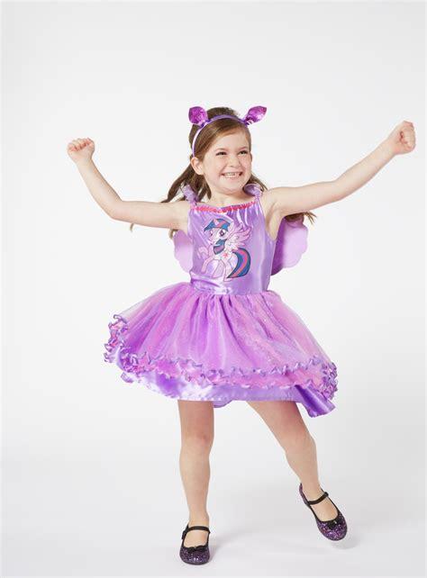 twilight pony sparkle costume dress years purple fancy clothing argos princess sleeping pricehistory