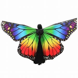Egypt Belly Wings Butterfly Egypt Dance Costume Accessory ...
