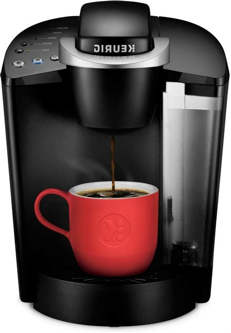 The removable drip tray is perfect to accommodate travel mugs. Keurig K-Classic Coffee Maker, Single Serve K-Cup Pod