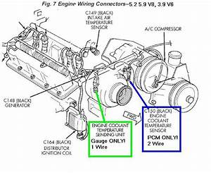 91 Dodge Dakota Ignition Coil Wiring